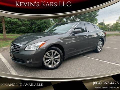 2012 Infiniti M37 for sale at Kevin's Kars LLC in Richmond VA