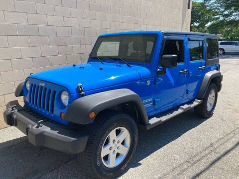 2011 Jeep Wrangler Unlimited for sale at Bill's Auto Sales in Peabody MA