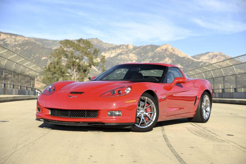 2009 Chevrolet Corvette for sale at Milpas Motors in Santa Barbara CA