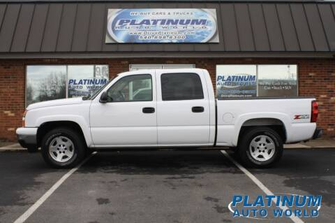 2006 Chevrolet Silverado 1500 for sale at Platinum Auto World in Fredericksburg VA