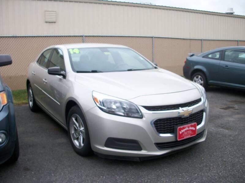 2014 Chevrolet Malibu for sale at Lloyds Auto Sales & SVC in Sanford ME