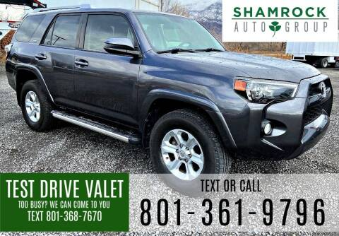 2016 Toyota 4Runner for sale at Shamrock Group LLC #1 in Pleasant Grove UT