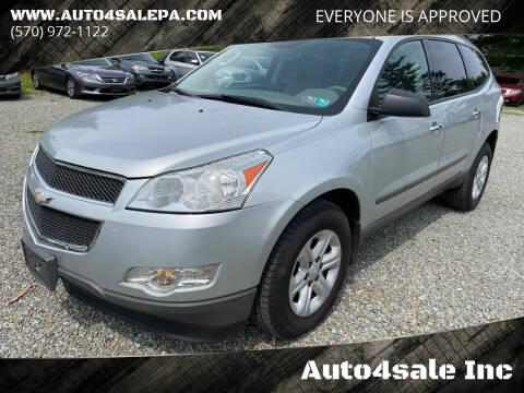 2012 Chevrolet Traverse for sale at Auto4sale Inc in Mount Pocono PA