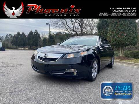 2013 Acura TL for sale at Phoenix Motors Inc in Raleigh NC