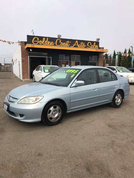2005 Honda Civic for sale at Golden Coast Auto Sales in Guadalupe CA