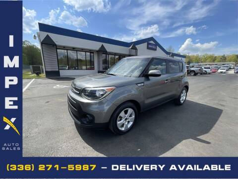 2018 Kia Soul for sale at Impex Auto Sales in Greensboro NC