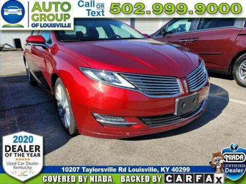 2015 Lincoln MKZ for sale at Auto Group of Louisville in Louisville KY