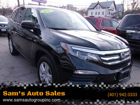2017 Honda Pilot for sale at Sam's Auto Sales in Cranston RI