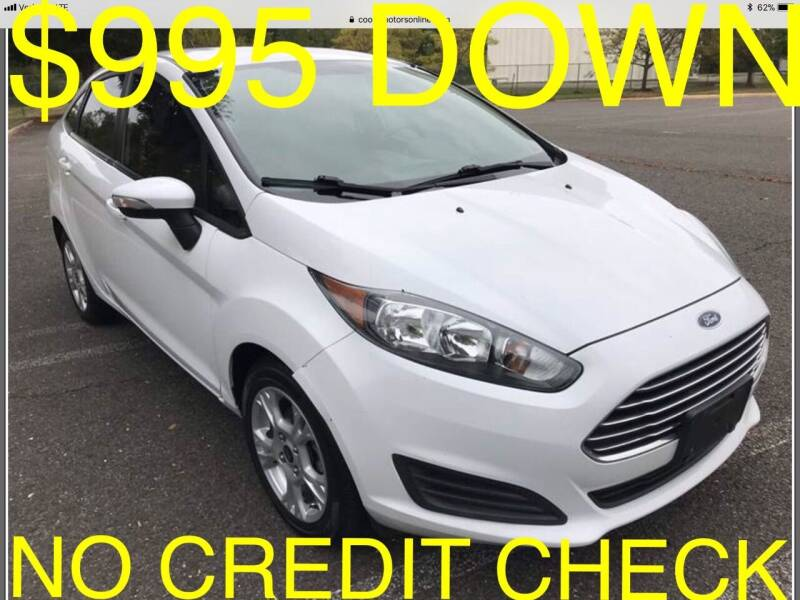2014 Ford Fiesta for sale at Cooks Motors in Westampton NJ