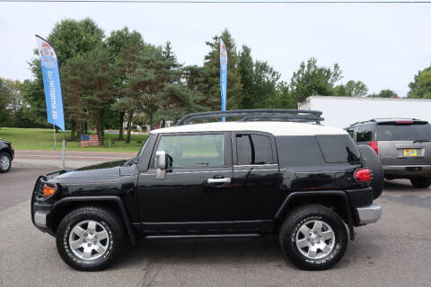 2007 Toyota FJ Cruiser for sale at GEG Automotive in Gilbertsville PA