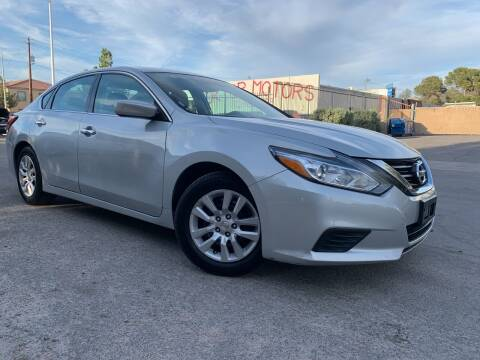 2017 Nissan Altima for sale at Boktor Motors in Las Vegas NV