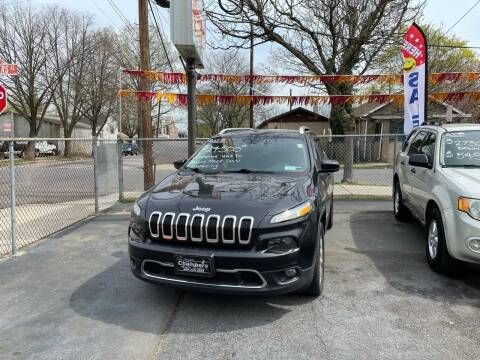 2015 Jeep Cherokee for sale at Chambers Auto Sales LLC in Trenton NJ