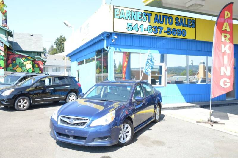 2011 Subaru Legacy for sale at Earnest Auto Sales in Roseburg OR