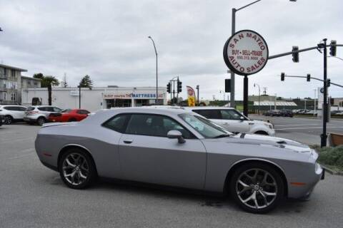 2016 Dodge Challenger for sale at San Mateo Auto Sales in San Mateo CA