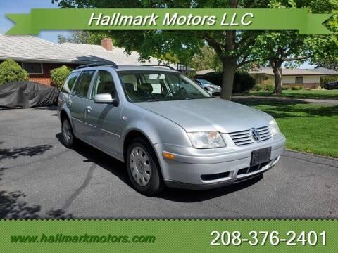 2003 Volkswagen Jetta for sale at HALLMARK MOTORS LLC in Boise ID