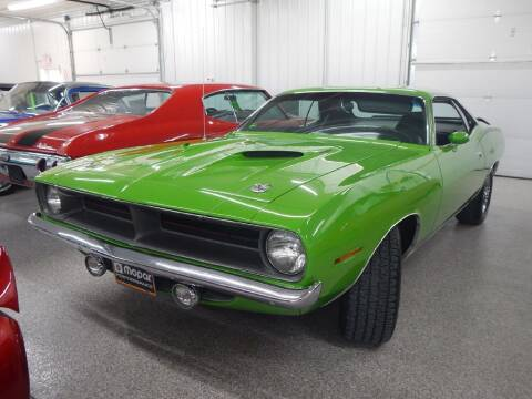 1970 Plymouth CUDA for sale at Custom Rods and Muscle in Celina OH