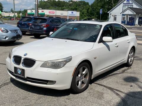 2008 BMW 5 Series for sale at Ludlow Auto Sales in Ludlow MA
