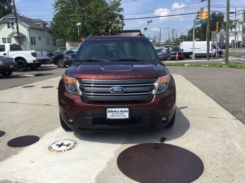 2015 Ford Explorer for sale at Steves Auto Sales in Little Ferry NJ