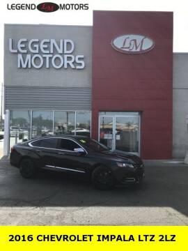 2016 Chevrolet Impala for sale at Legend Motors of Detroit - Legend Motors of Ferndale in Ferndale MI