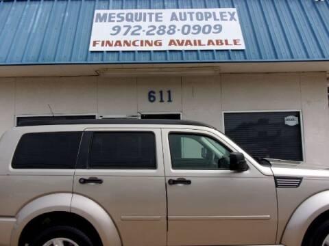 2010 Dodge Nitro for sale at MESQUITE AUTOPLEX in Mesquite TX