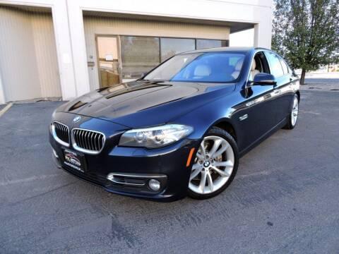 2014 BMW 5 Series for sale at PK MOTORS GROUP in Las Vegas NV