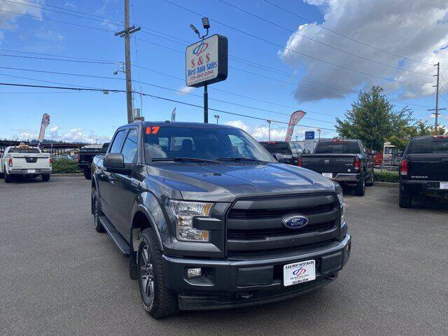 2017 Ford F-150 for sale at S&S Best Auto Sales LLC in Auburn WA