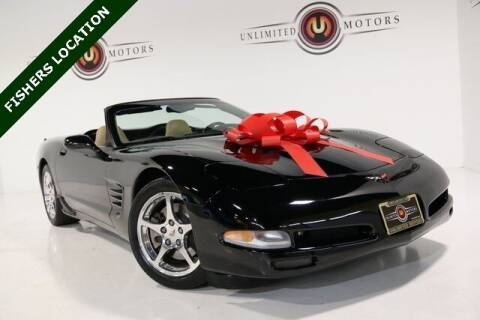 2002 Chevrolet Corvette for sale at Unlimited Motors in Fishers IN