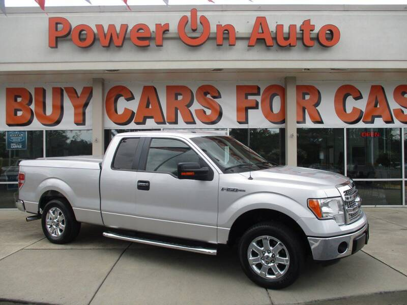 2013 Ford F-150 for sale at Power On Auto LLC in Monroe NC