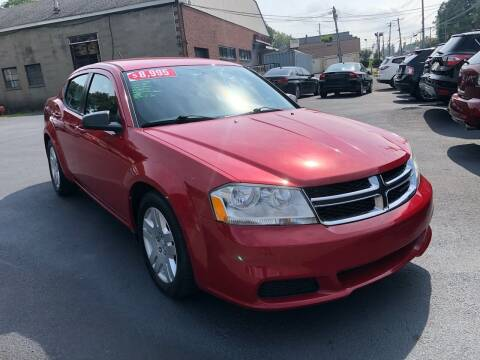 2013 Dodge Avenger for sale at JB Auto Sales in Schenectady NY