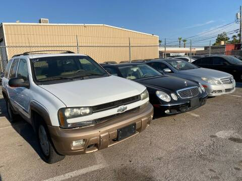 2002 Chevrolet TrailBlazer for sale at CONTRACT AUTOMOTIVE in Las Vegas NV