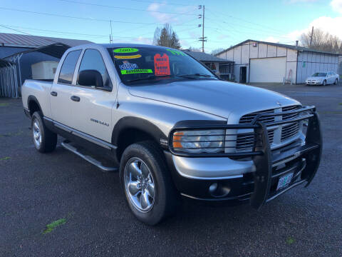 2005 Dodge Ram Pickup 1500 for sale at Freeborn Motors in Lafayette, OR