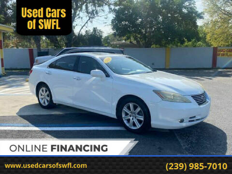 2008 Lexus ES 350 for sale at Used Cars of SWFL in Fort Myers FL