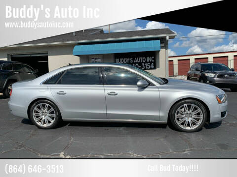 2014 Audi A8 L for sale at Buddy's Auto Inc in Pendleton, SC