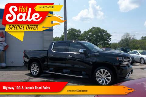 2020 Chevrolet Silverado 1500 for sale at Highway 100 & Loomis Road Sales in Franklin WI