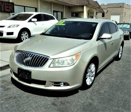 2013 Buick LaCrosse for sale at DESERT AUTO TRADER in Las Vegas NV