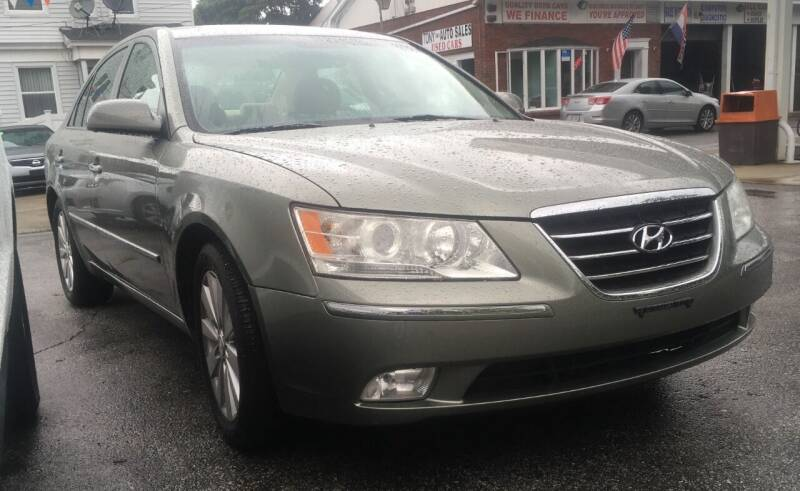 2009 Hyundai Sonata for sale at Tony's Gas & Repair Auto Sales in Fall River MA