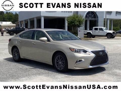 2018 Lexus ES 350 for sale at Scott Evans Nissan in Carrollton GA