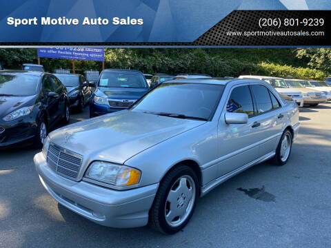 1999 Mercedes-Benz C-Class for sale at Sport Motive Auto Sales in Seattle WA
