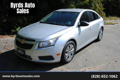 2014 Chevrolet Cruze for sale at Byrds Auto Sales in Marion NC