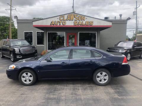 2008 Chevrolet Impala for sale at Clawson Auto Sales in Clawson MI