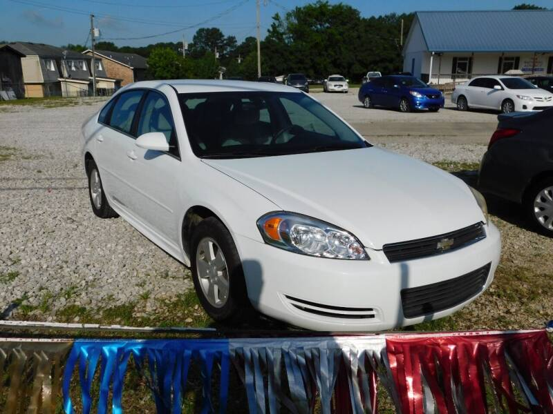 2011 Chevrolet Impala for sale at National Advance Auto Sales in Florence AL