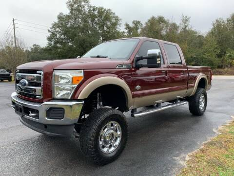 2012 Ford F-250 Super Duty for sale at Gator Truck Center of Ocala in Ocala FL