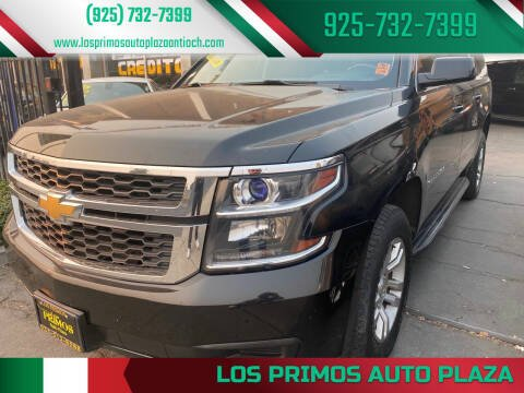 2016 Chevrolet Suburban for sale at Los Primos Auto Plaza in Antioch CA