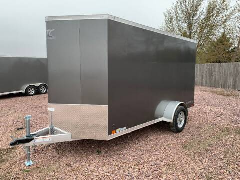 2021 ATC Raven 6x12+2 V-Nose #2641 for sale at Prairie Wind Trailers, LLC in Harrisburg SD