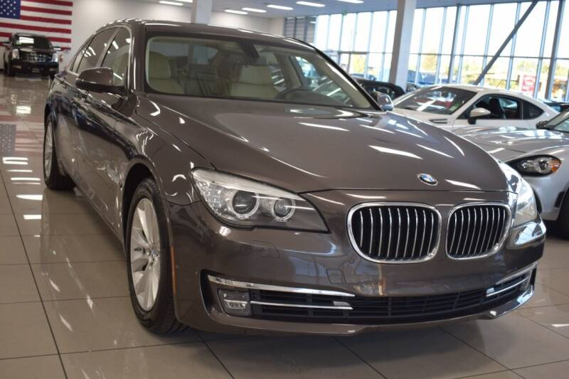 2013 BMW 7 Series for sale at Legend Auto in Sacramento CA