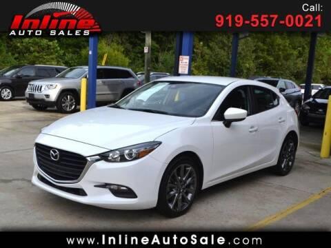 2018 Mazda MAZDA3 for sale at Inline Auto Sales in Fuquay Varina NC
