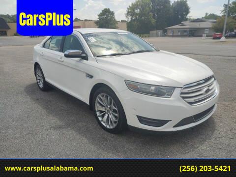 2013 Ford Taurus for sale at CarsPlus in Scottsboro AL