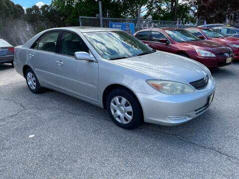 2002 Toyota Camry for sale at JK & Sons Auto Sales in Westport MA