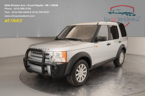 2008 Land Rover LR3 for sale at Elvis Auto Sales LLC in Grand Rapids MI