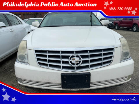 2007 Cadillac DTS for sale at Philadelphia Public Auto Auction in Philadelphia PA